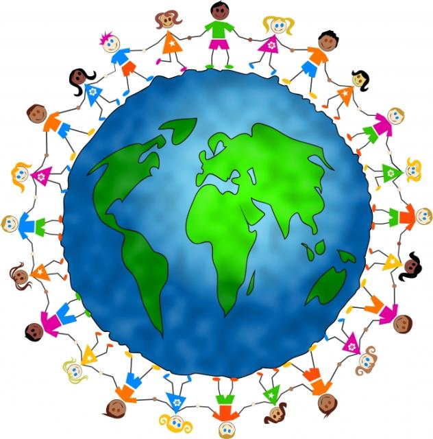 Clip Art Children around the World